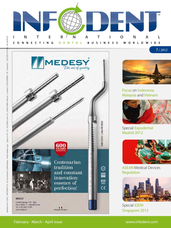 Infodent International 1 2012 by Infodent srl - issuu