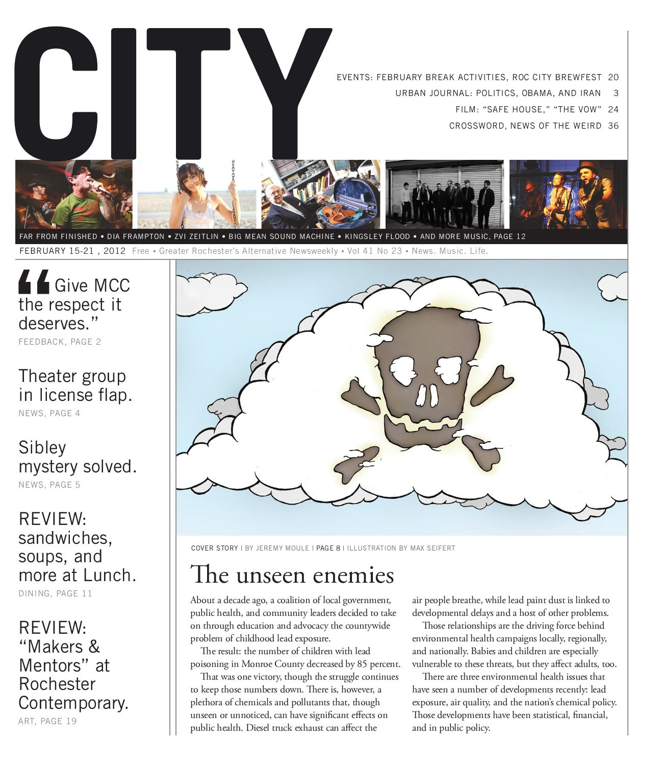 February 15-21, 2012 - CITY Newspaper by Rochester City Newspaper