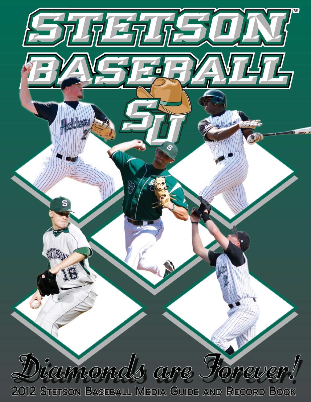 2012 Baseball Guide by Stetson University Athletics - issuu 4da4023c7