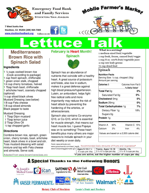 Healthy Food In Stockton Ca