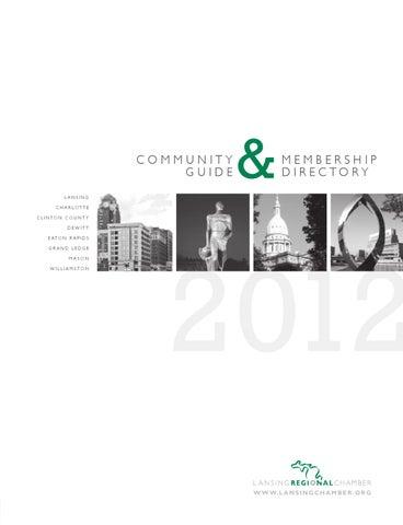 Lansing Regional Chamber of Commerce - Community Guide   Membership ... 9b165df8c8