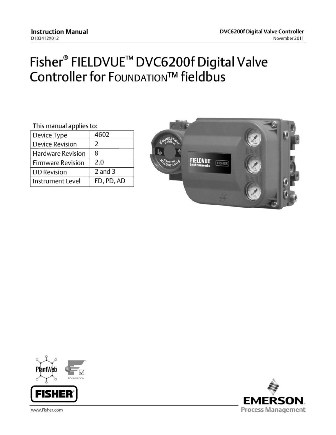 dvc6200f instruction manual nov 2011 by rmc process controls dvc6200f instruction manual nov 2011 by rmc process controls filtration inc issuu