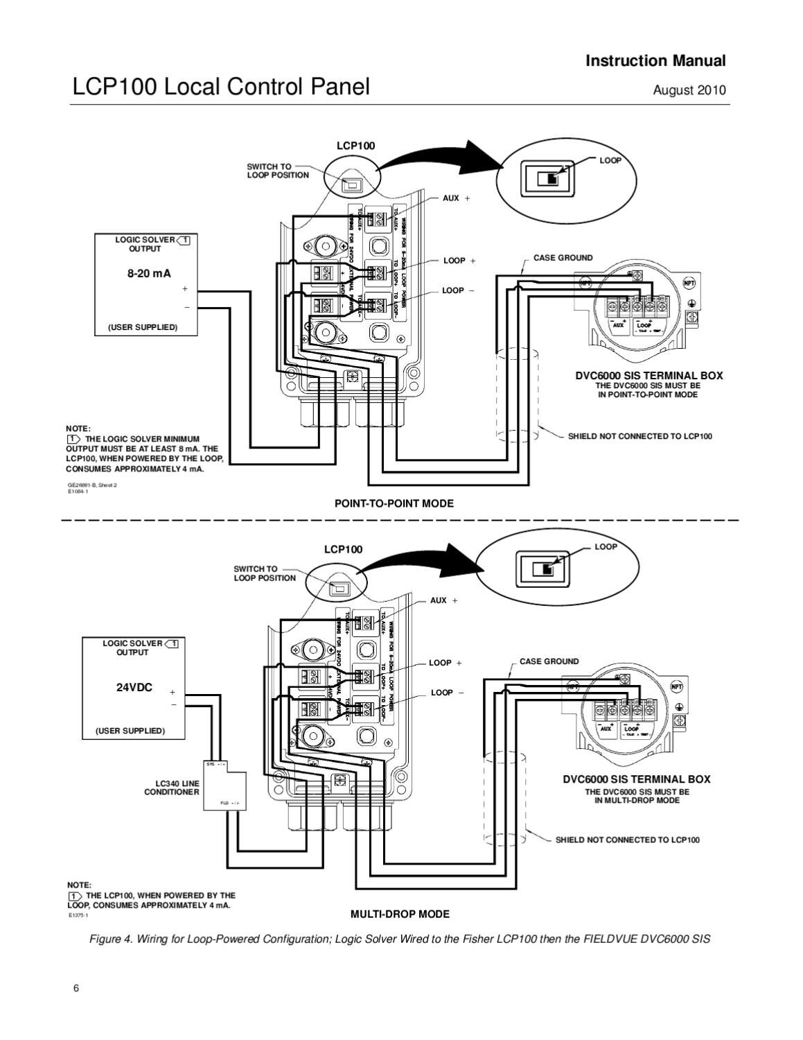 Lcp100 Control Panel Instruction Manual Aug 2010 By Rmc Process Controls  U0026 Filtration  Inc