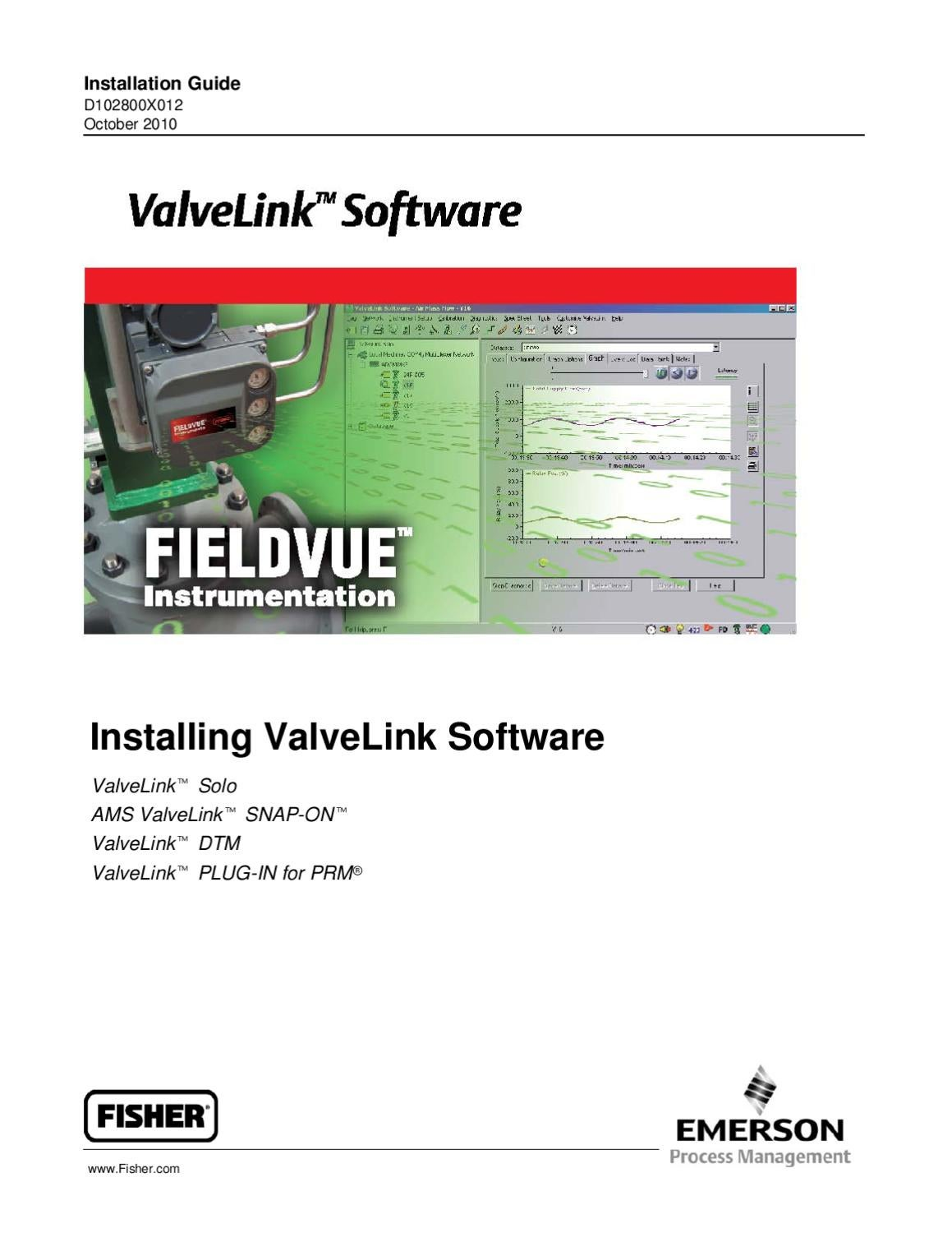 ValveLink Software Installation Guide Oct 2010 by RMC Process