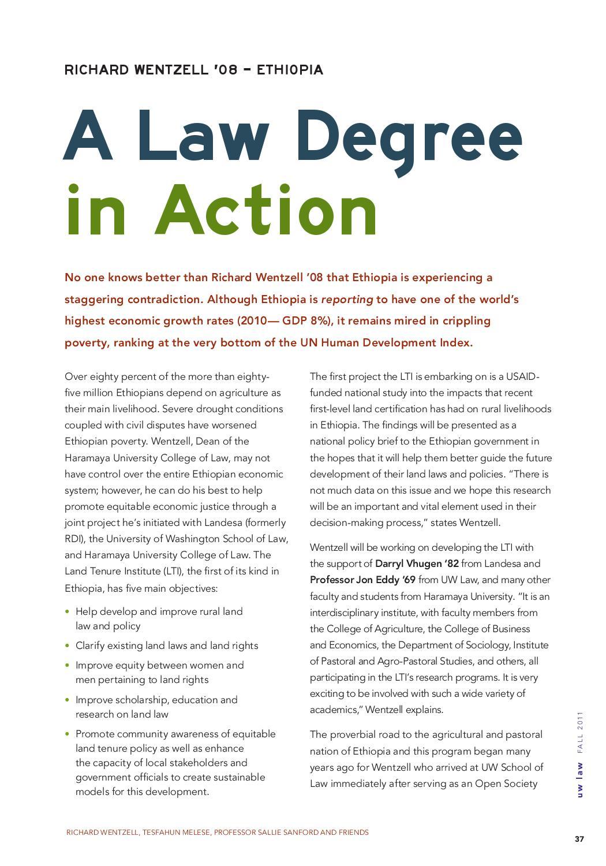 UW Law Alumni Magazine - Fall 2011 by UW School of Law - issuu