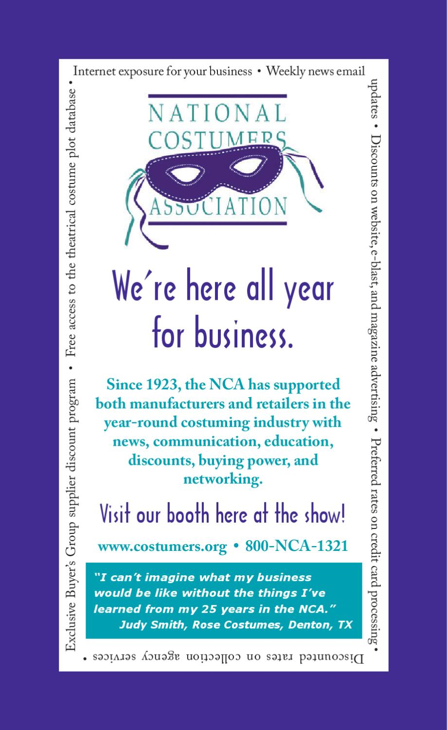 2012 Exhibitor Directory & Buyers' Guide by Halloween