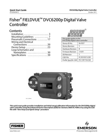 dvc6200p quick start guide by rmc process controls & filtration, inc. - issuu fisher mc 4040 wiring diagram kenwood mc 60a wiring diagram