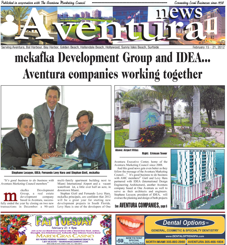 Aventura News 2.15.2012 By Community Newspapers
