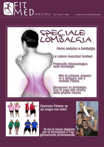 FitMed n°2 2012 Low back pain by alea edizioni professionefitness ... ef1dcc361b0d