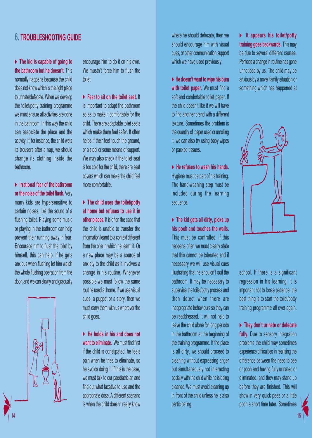 Problems going to the bathroom - Leaflet N 3 Toilet Training By Associaci Catalana S Ndrome X Fr Gil Issuu