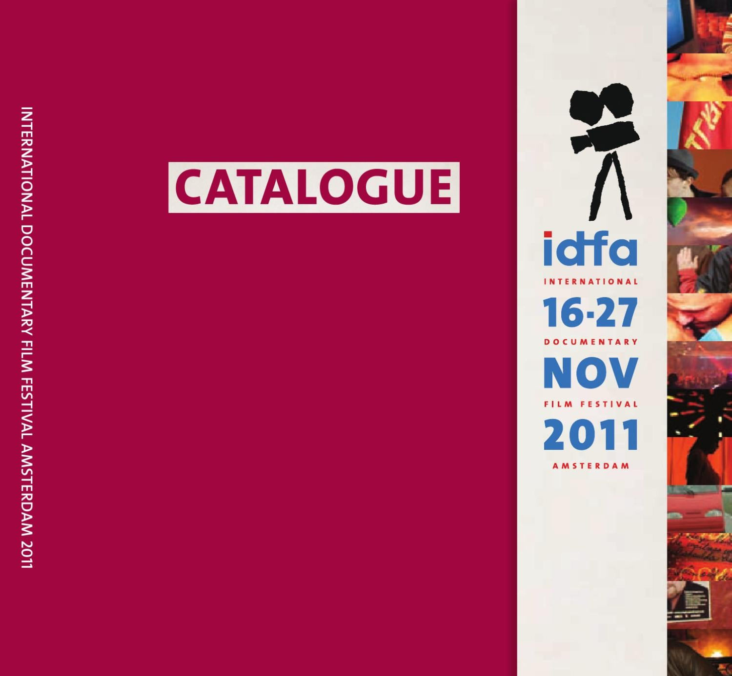 Catalogue IDFA 2011 by IDFA International Documentary Film Festival