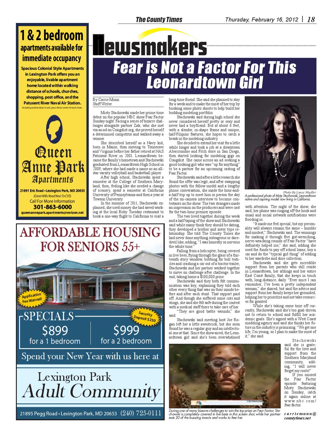 2012-02-16 The County Times by Southern Maryland Online ...