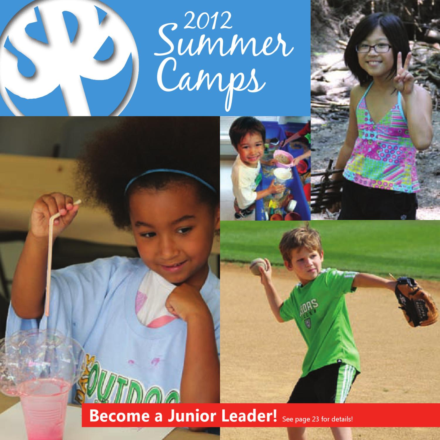 Schaumburg Park District 2012 Summer Camps Guide by ...