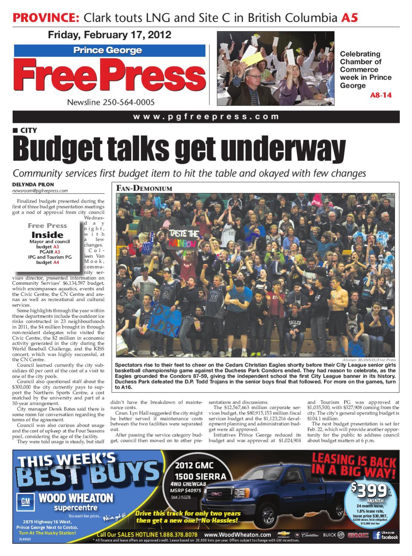 February 17, 2012 by Prince George Free Press - issuu