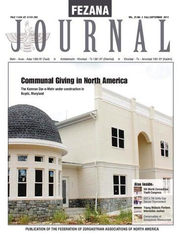 FEZANA Journal - Fall, September 2011 by ON-LYNE - issuu