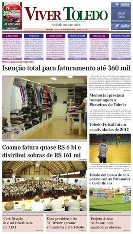 a6406239db 131ª edição do Jornal Viver Toledo by JORNAL VIVER TOLEDO - issuu