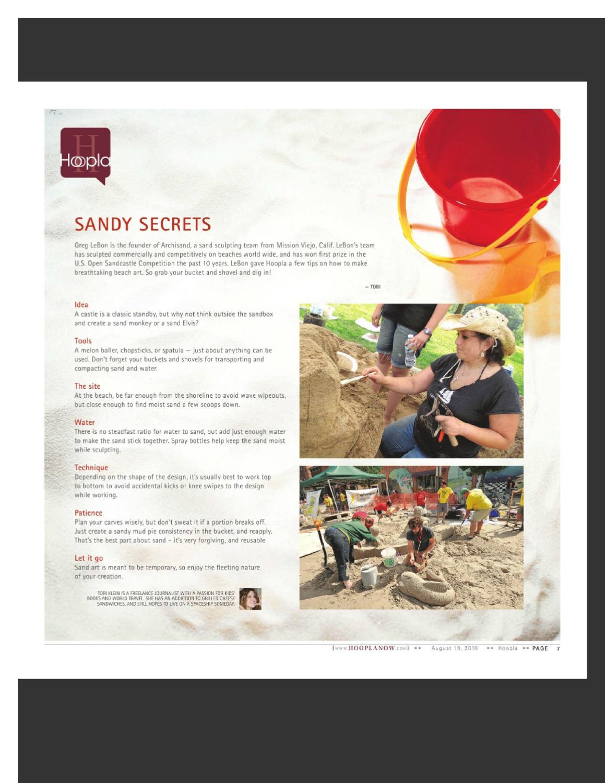 sandy secrets