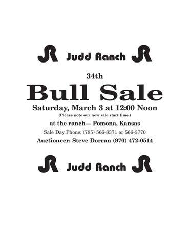b9e248bc2577f 2012 Judd Ranch Bull Sale Catalog by American Gelbvieh Association ...