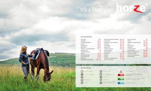 Horze Lovasáruház 2012 tavaszi nyári katalógus by Horze Hungary Kft ... 08148455db