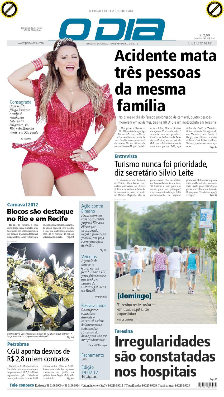 JORNAL O DIA by Jornal O Dia - issuu 5d7b1c5fbf