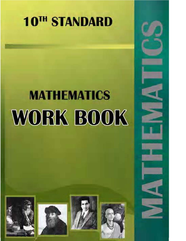 SSLC Mathematics Work Book 2012 by Chitradurga Maths Teachers ...