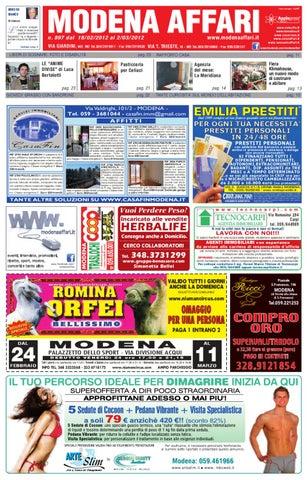 modena affari 18 febbraio 2012 by Apple Press Group srl - issuu fd207a115a8