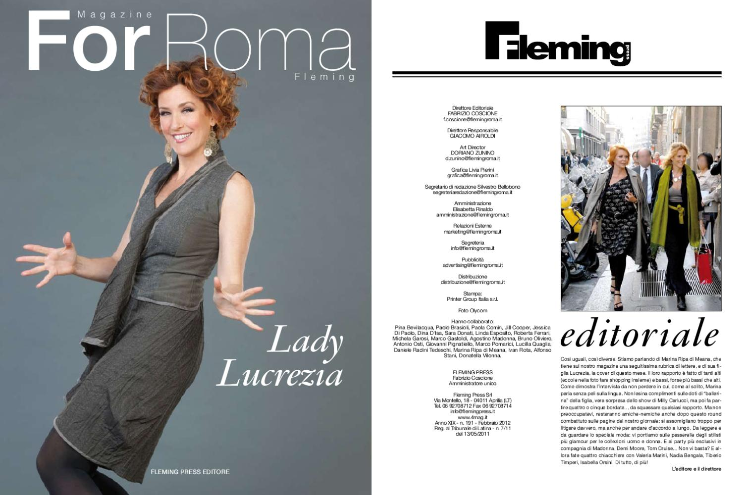 for roma febbraio by 4mag magazine - issuu 767d1ad37e58