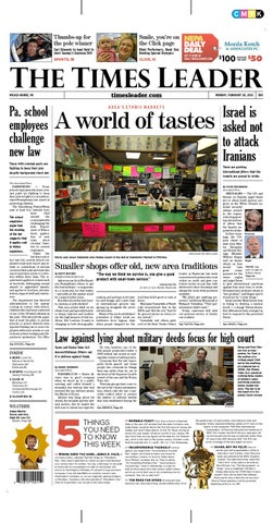 Times Leader 02-20-2012 by The Wilkes-Barre Publishing Company - issuu e6f9c969e