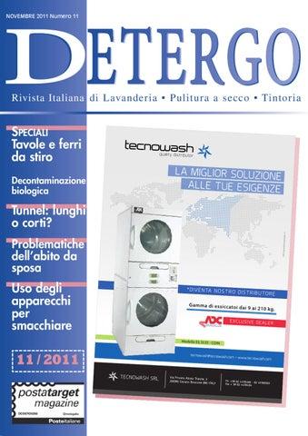Detergo Novembre 2011 - News - Rivista di Lavanderia Industriale e ... 7685dd28858c