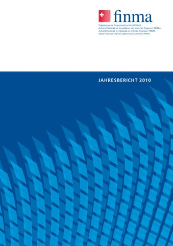 FINMA Jahresbericht 2010 by BBF.CH - issuu
