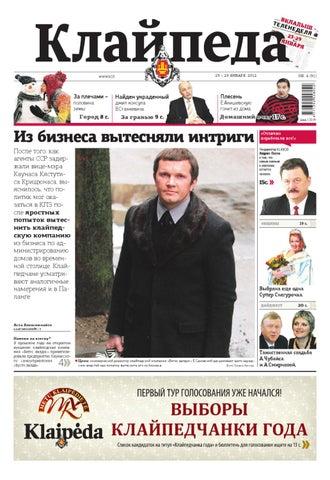 d9b14aa973fcafe 2012-01-23 Klaipeda rus by Diena Media News - issuu