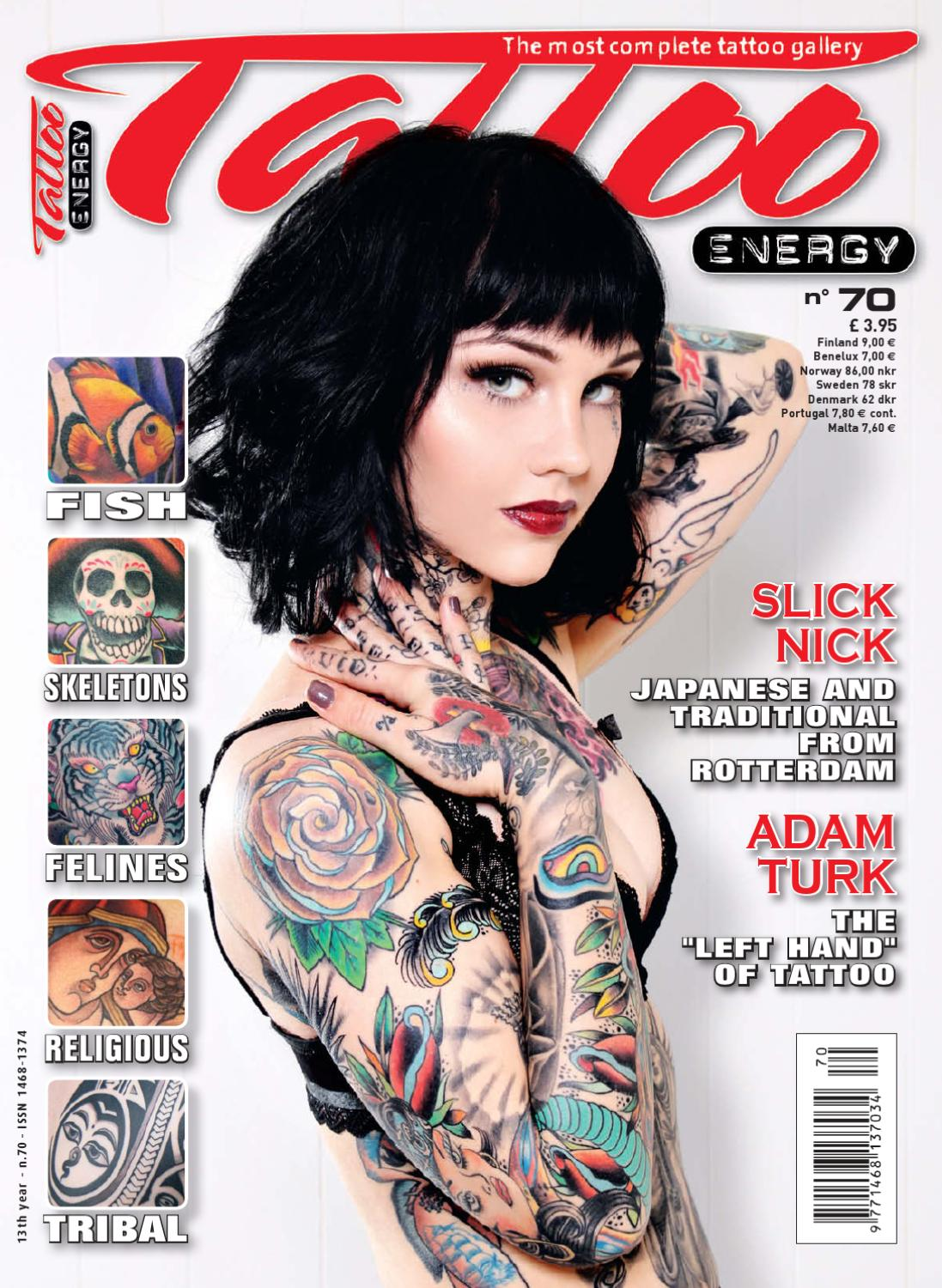 Free Issue Tattoo Energy Magazine By Tattoo Life Production