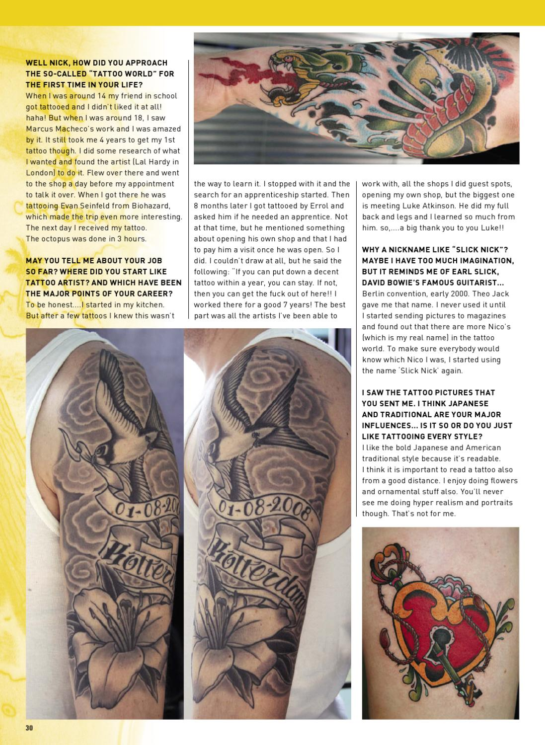 FREE ISSUE Tattoo Energy Magazine by Tattoo Life Production - issuu