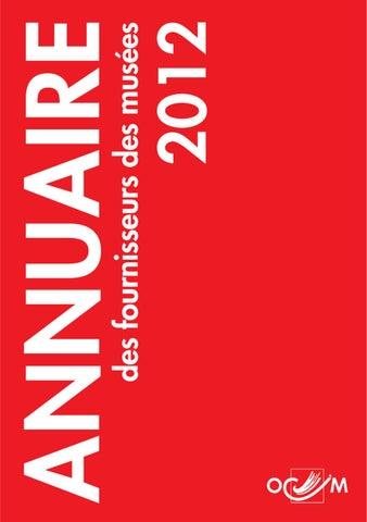 2808fe20f3 ANNUAIRE des fournisseurs des musées 2012 by Dom webmaster - issuu