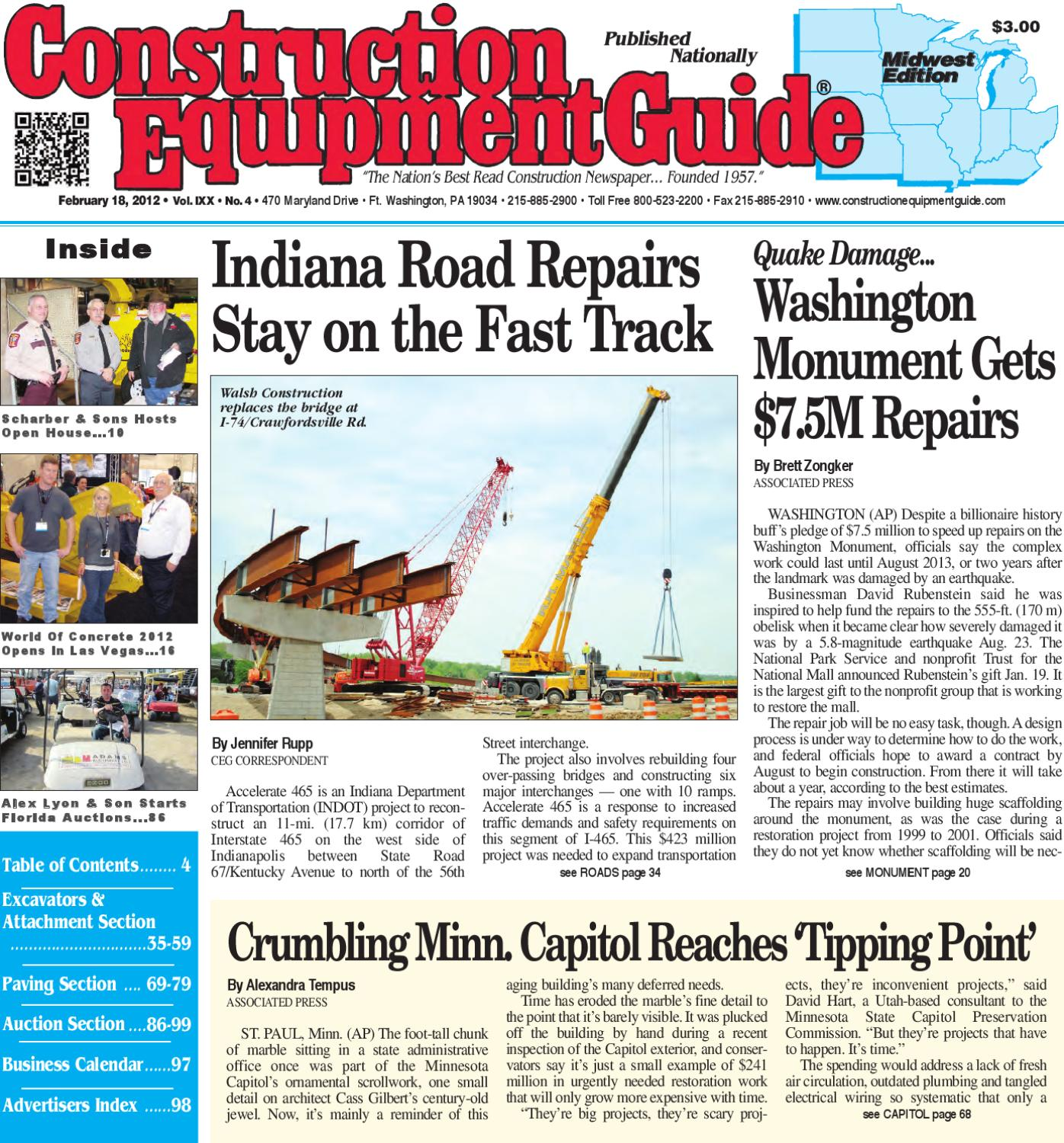 Midwest #4, 2012 by Construction Equipment Guide - issuu