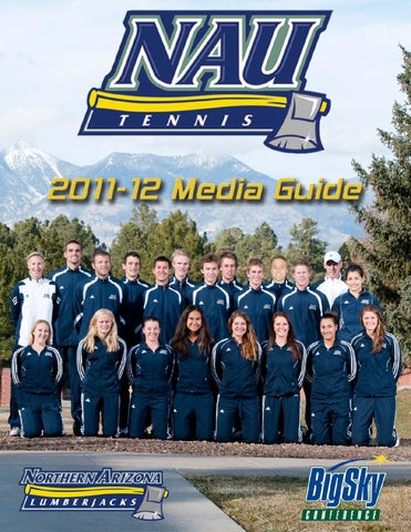 Nau Tennis Media Guide By Athletics