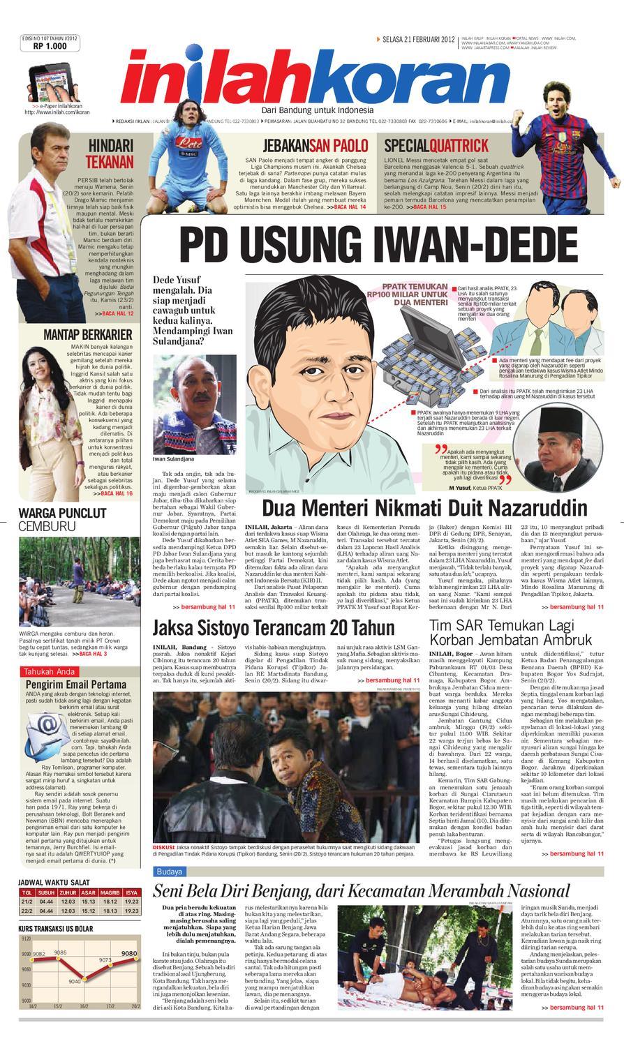 PD USUNG IWAN DEDE By Inilah Koran Issuu
