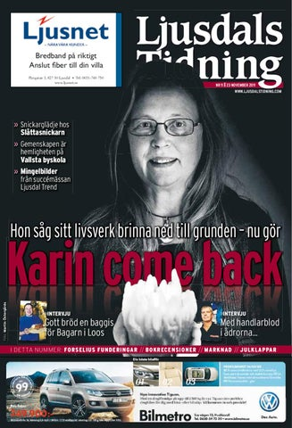 Ljusdals Tidning Nr 11 2011 By Hälsinge Allehanda Issuu