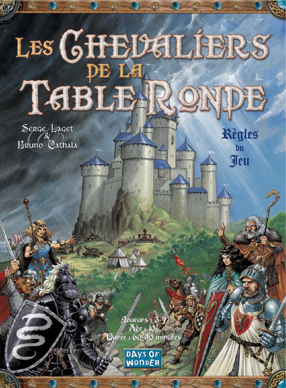 Les Chevaliers De La Table Ronde Regles De Jeu By Etienne