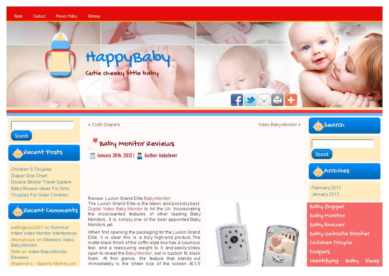 Luvion Platinum 3 Video Baby Monitor
