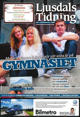 Ljusdals Tidning Nr 8 2010 By Hälsinge Allehanda Issuu