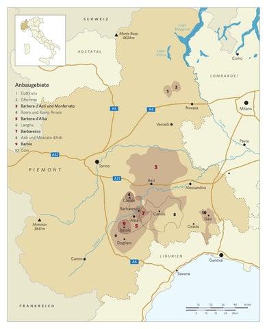 Piemont Weinbau Karte.Karte Weinbau Piemont By Weinwelten Issuu