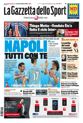67d8824d590d50 Gazzetta dello Sport 21/2 | SAS by seriea streaming - issuu