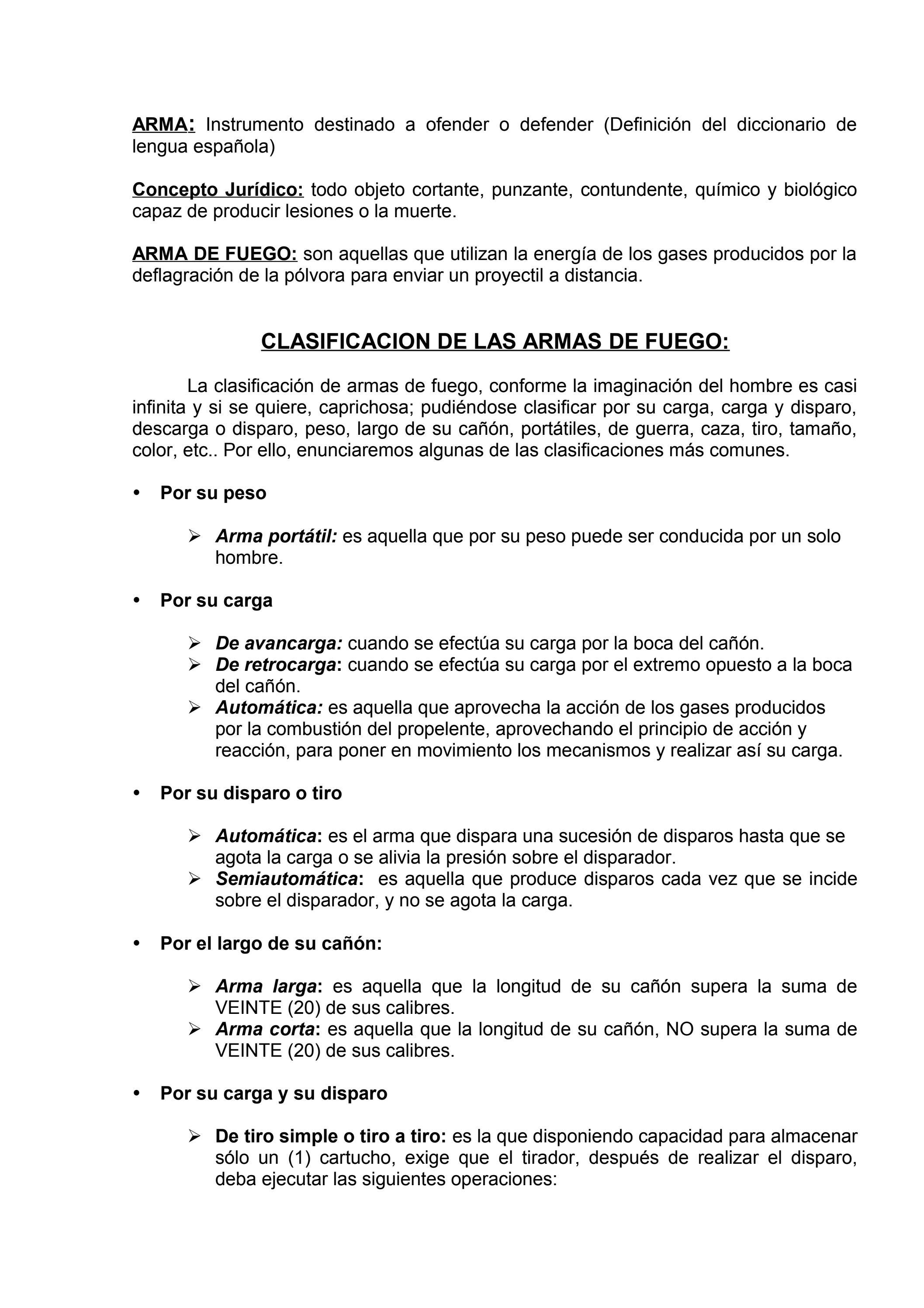 arma y tiro by Luis Miranda - issuu