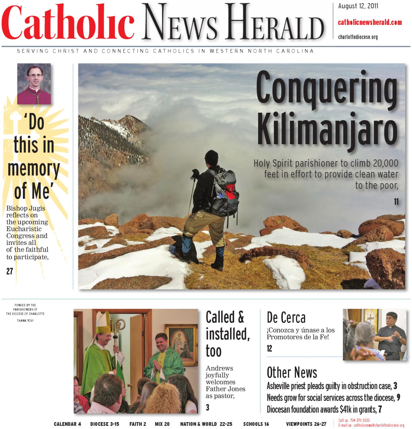 Aug 12 2011 by Catholic News Herald issuu