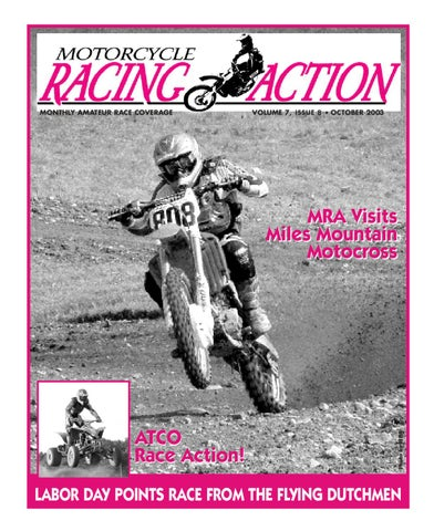 MRA Oct 2003 by Motorcycle Racing Action - issuu