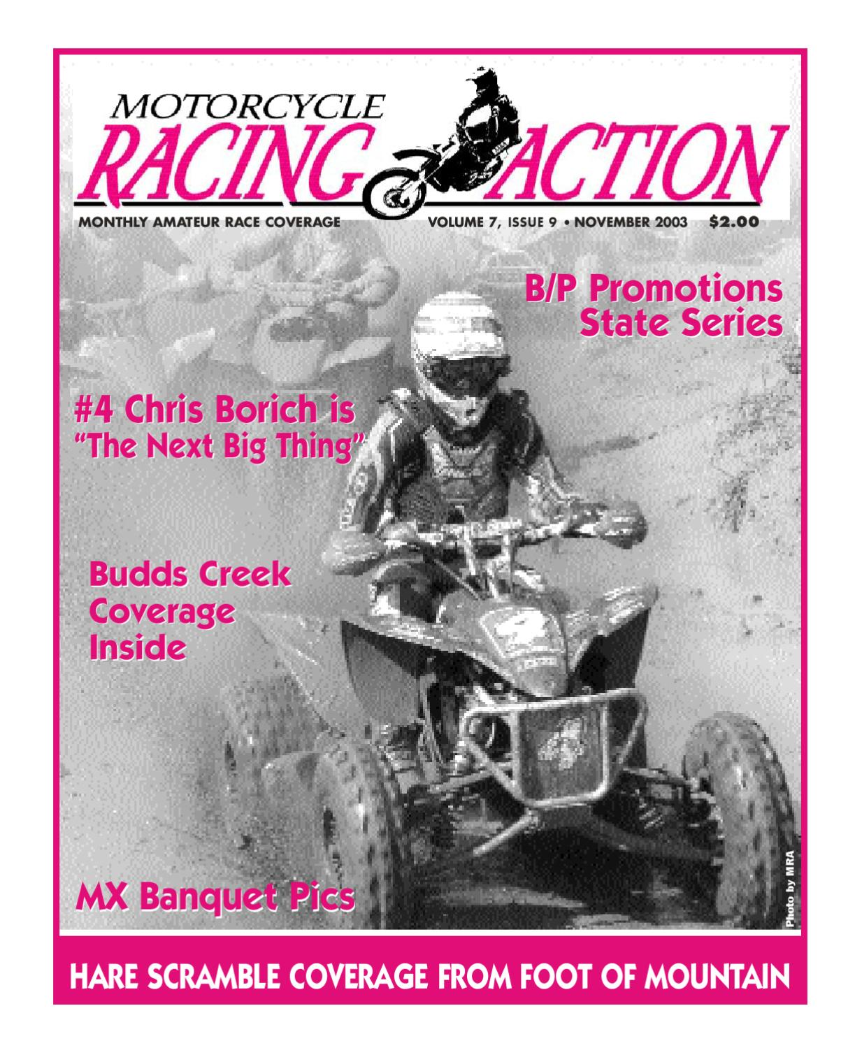 MRA Nov 2003 by Motorcycle Racing Action - issuu
