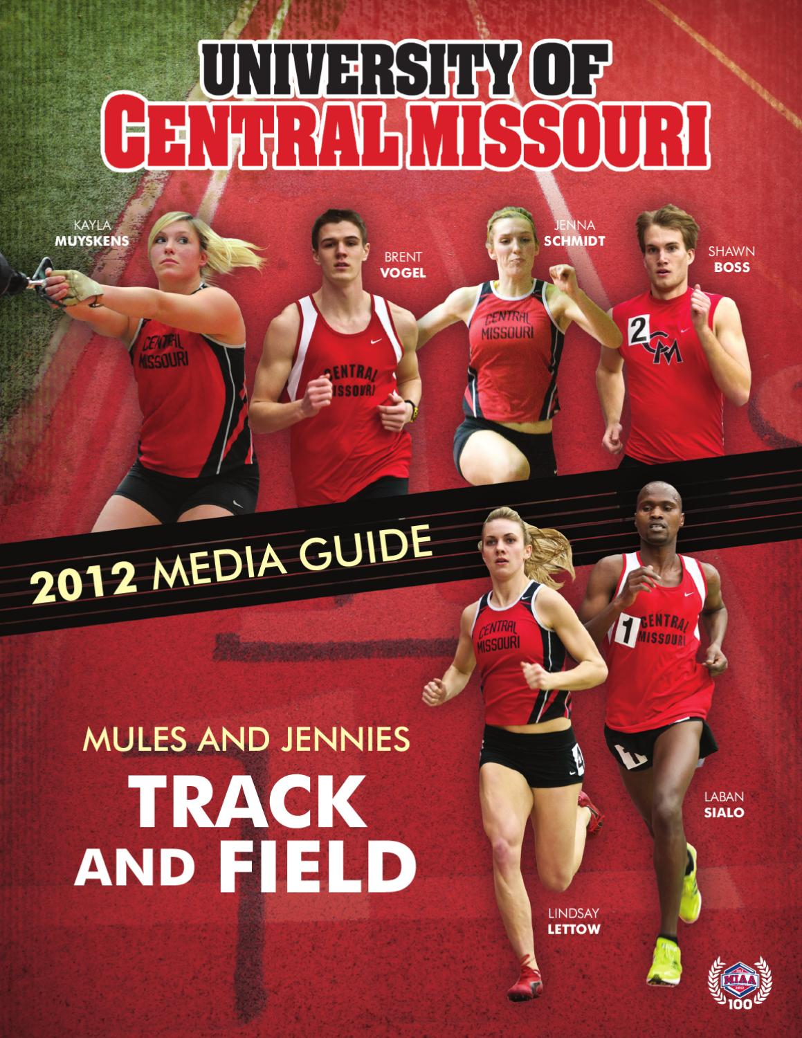 2012 Central Missouri Track & Field Media Guide by UCM ...