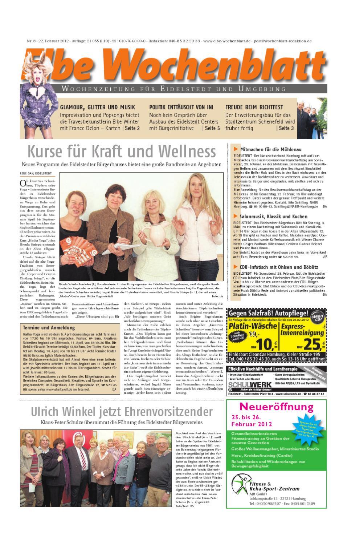 Eidelstedt KW08 by Elbe Wochenblatt Verlagsgesellschaft mbH & Co.KG - issuu