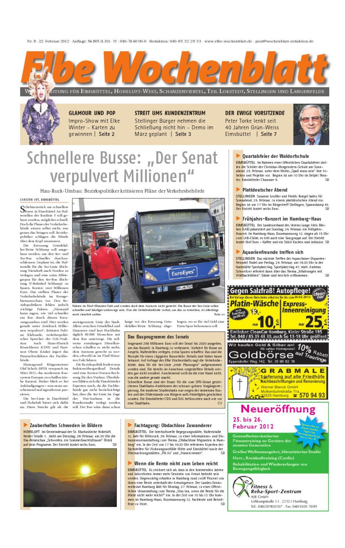 Eimsbüttel Kw08 By Elbe Wochenblatt Verlagsgesellschaft Mbh Cokg